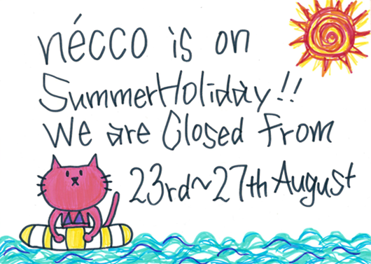 Necco 2013 summer holiday